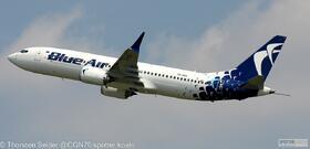 Blue Air 737 MAX 8 YR-MXA