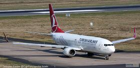 Turkish Airlines 737-800W TC-JVB