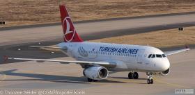 Turkish Airlines A319-100 TC-JLS