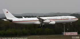 German Air Force A340-300 16+02