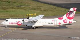 SprintAir ATR-72-200 SP-SPA OE-LGJ