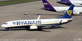 Ryanair 737-800W EI-GXL
