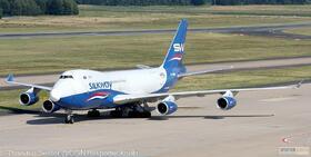 Silk Way West Airlines 747-400