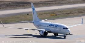 Blue Air 737-700W YR-BMR