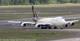 UPS 747-800 N620UP