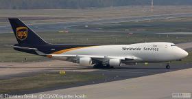UPS 747-400 N580UP