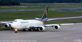 UPS 747-800 _N607UP