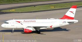 Austrian Airlines A319-100__   OE-LDC