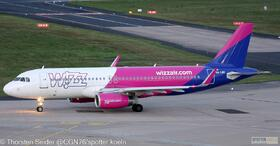 Wizz Air A320-200W HA-LWS
