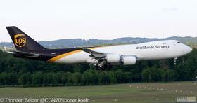 UPS 747-800 N611UP