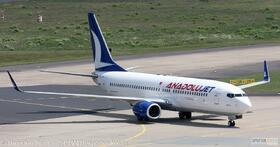 AnadoluJet 737-800W TC-JFN