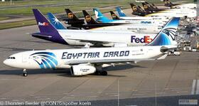 EgyptAir Cargo A330-200P2F SU-GCJ