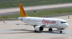 Pegasus Airlines A320-200NEO TC-NBK