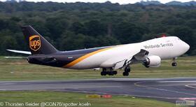 UPS 747-800 N623UP