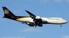 UPS 747-800 N618UP