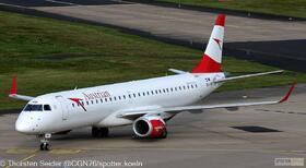 Austrian Airlines EM-195LR OE-LWM
