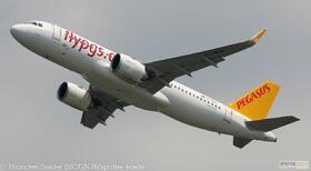 Pegasus Airlines A320-200NEO TC-NCO