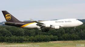 UPS 747-400 N575UP