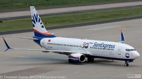 SunExpress 737-800W TC-SOH
