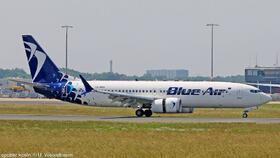 YR-MXA Blue Air B737-8 MAX