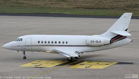 NetJets Europe Falcon 2000EX CS-DLK
