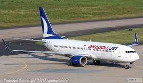 AnadoluJet 737-800W TC-JFE
