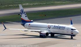 SunExpress 737-800W TC-SOF