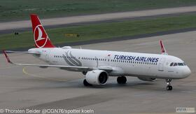 Turkish Airlines A321-200NX TC-LSD