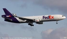 N585FE FedEx MD11