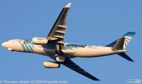 EgyptAir Cargo A330-200 SU-GCJ