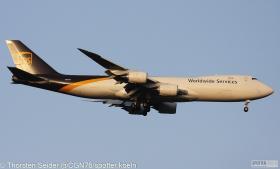 N611UP UPS 747-800