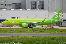 S7 Airlines VP-BVI A320-271N