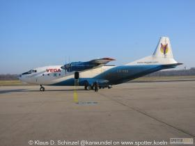 LZ-VED VEGA Airlines AN12