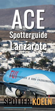 Spotterguide ACE Lanzarote